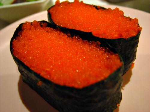 9 lo i tr ng c d ng trong sushi for Roe fish eggs